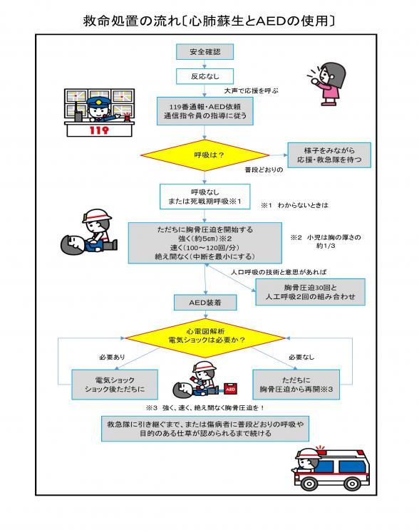 救命処置 | 甲賀広域行政組合